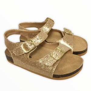 Nina sparkley gold sandals